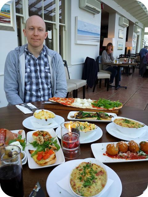 prezzo spring menu, tasting menu, small main meals