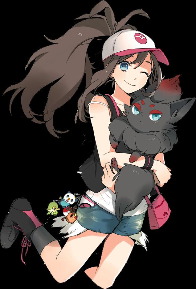 Pokemon hilda hot