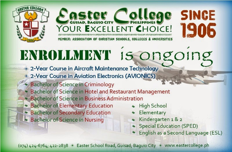 Easter College, Baguio City