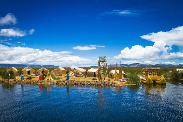 Lago Titicaca  - Divulgação Machu Picchu Brasil