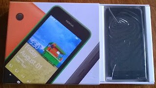 Pulling out Lumia 530