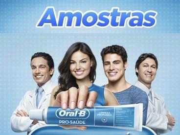Amostra Gratis do creme dental Oral-B Pro-Saúde
