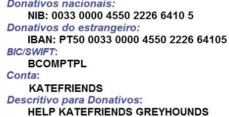 HELP KATEFRIENDS GREYHOUNDS