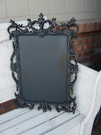 Scrolly Chalkboard (SOLD)