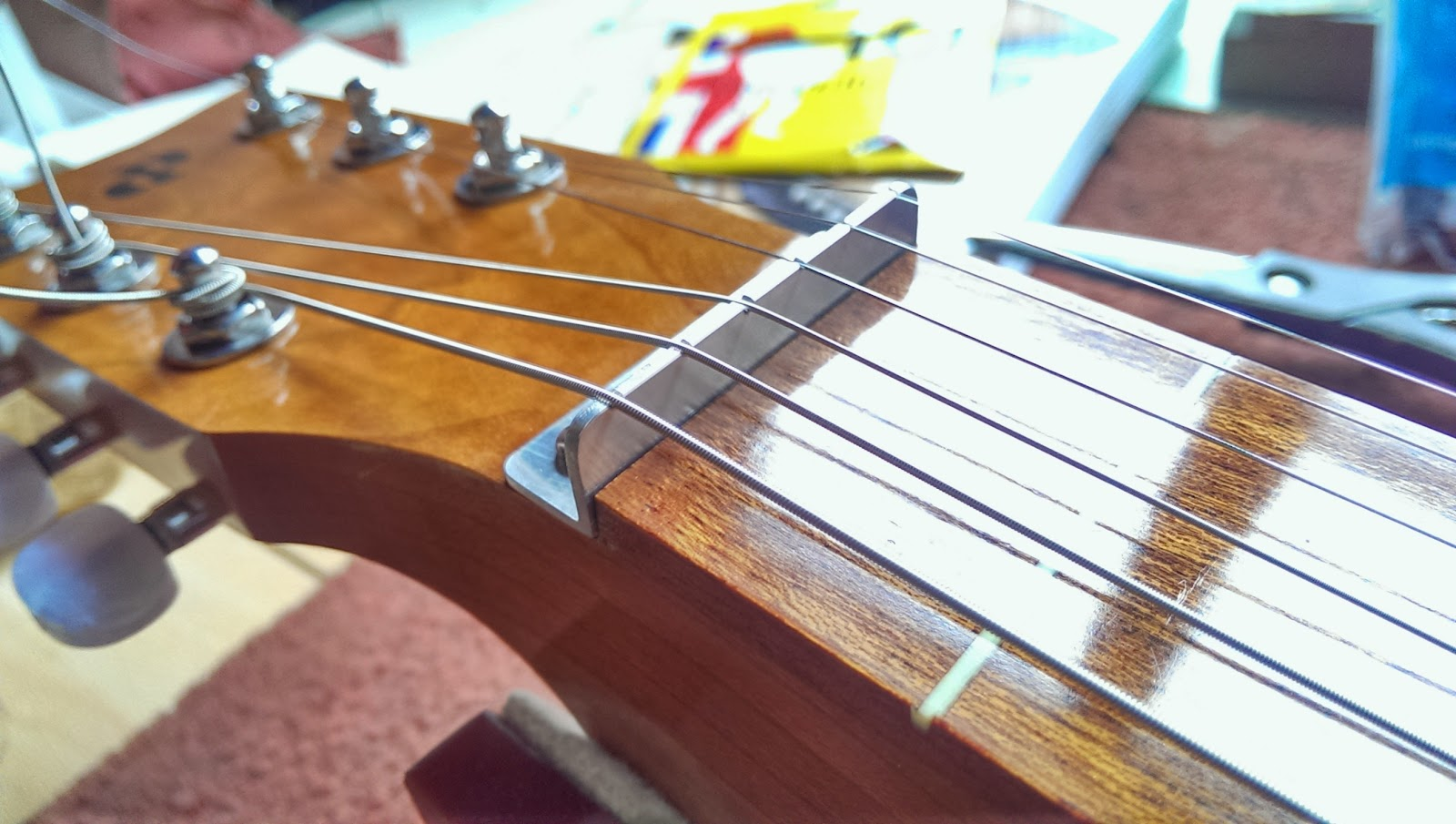 how to polish a guitar finish