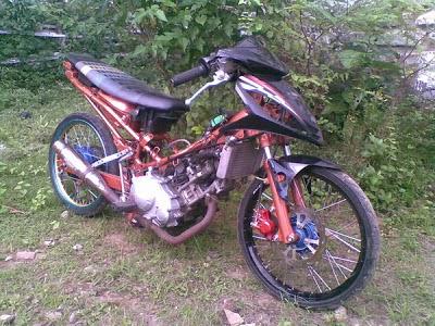 Foto Drag Motor Jupiter mx Foto Modifikasi Motor Jupiter