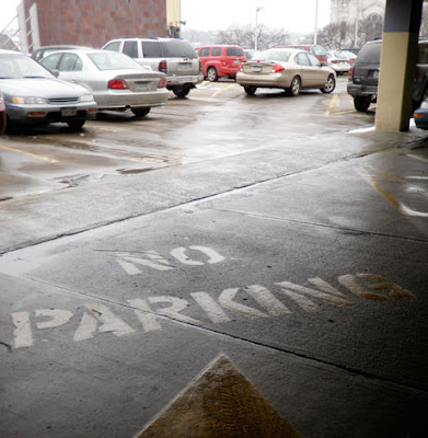 No Parking Ramp