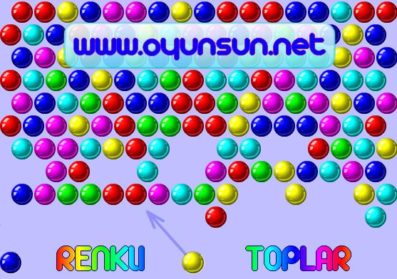 renkli toplar oyunu