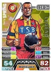 Terry Spring Match Attax Legend