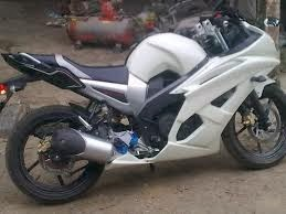 Modif Tangki Yamaha Bison