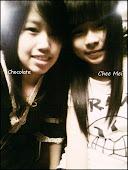 chee mei like ghost mou ?? xDD