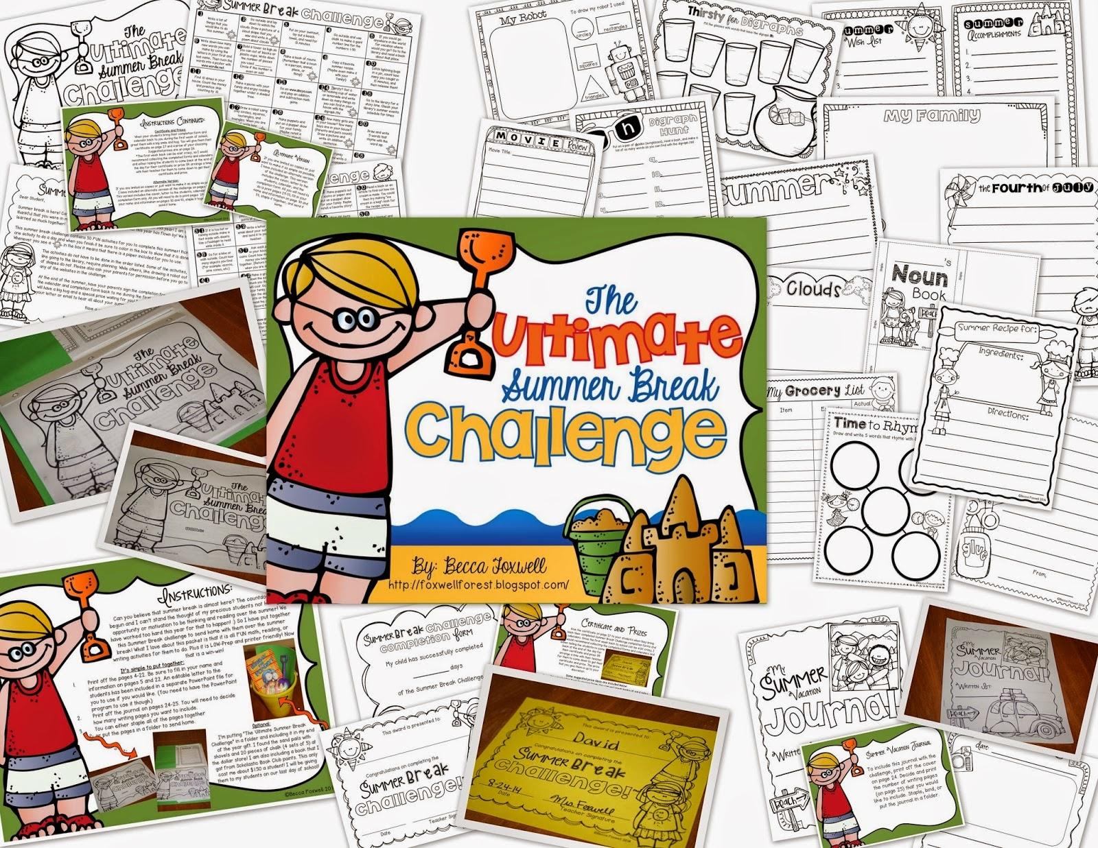 http://www.teacherspayteachers.com/Product/The-Ultimate-Summer-Break-Challenge-1233167