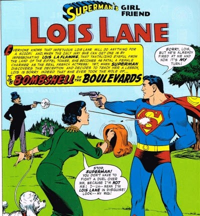 Superman's Girlfriend Lois Lane Bombshell of the Boulevards