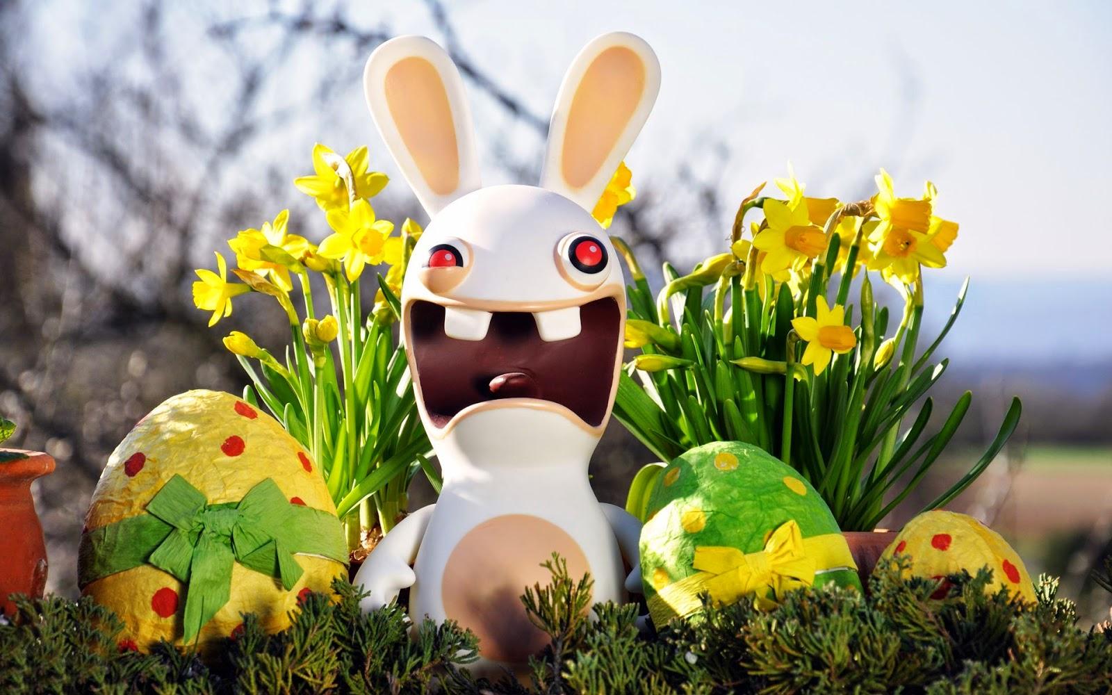 Crochet Easter Bunny Garland - Free Pattern