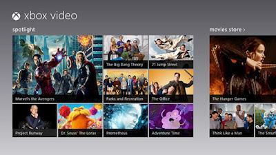 Xbox Video, tienda de Streaming