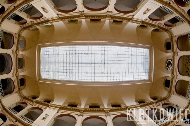 Wrocław. Wnętrze NOT.