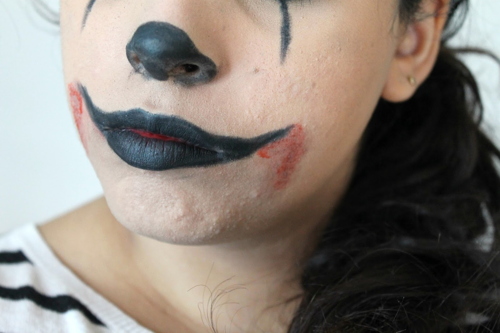 30/10/14 / 31th october, beauty, come vestirsi ad halloween, diy halloween,  halloween makeup, halloween party, killer clown, trucco occhi castani,  trucco