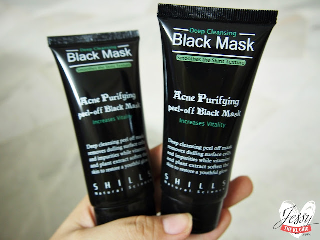 beauty shills black mask purifying peel off mask review. Black Bedroom Furniture Sets. Home Design Ideas