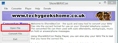 ShoreWAVCon v4.4 Released - Shoretel WAV Converter & Media Player Utility 2