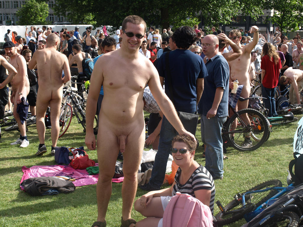 naked bike erected World Naked Bike Ride