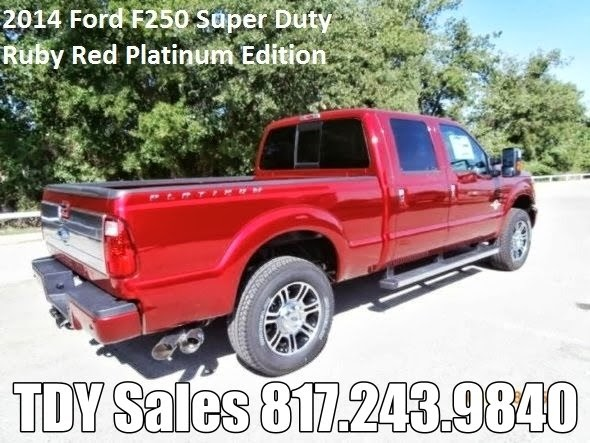 Texas Ruby Red Ford F-250 Truck