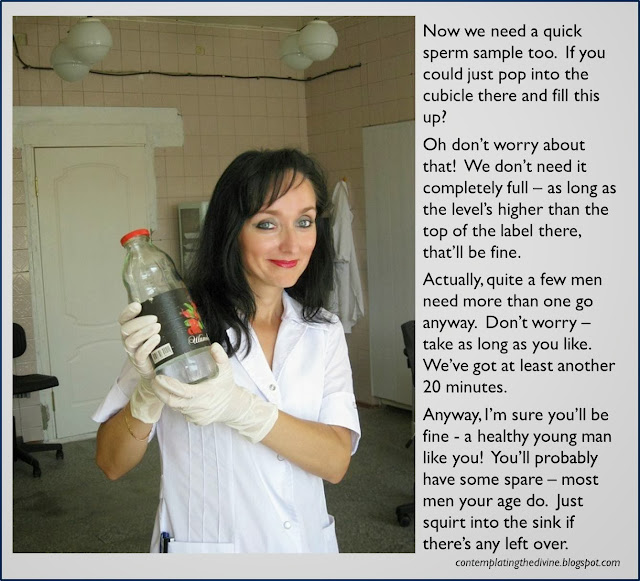 sperm sample nurse