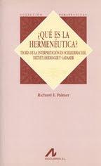 ¿QUÉ ES LA HERMENÉUTICA? – RICHARD E. PALMER