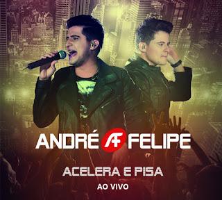"""""""Acelera e Pisa"""", de André e Felipe, é pré-lançado no iTunes e Google Play"""