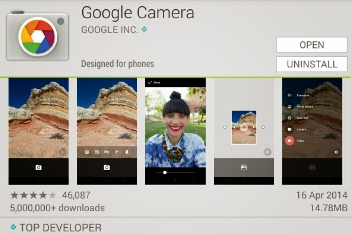camera apps for android free download apk