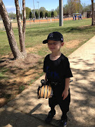Wyatt's 1st Super TBall game, 2013