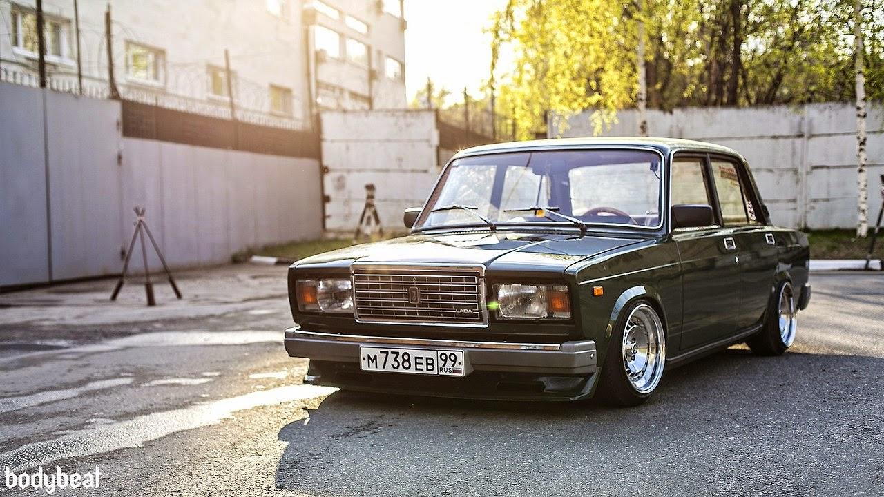 Ruote Rugginose Russian Lada Mafia