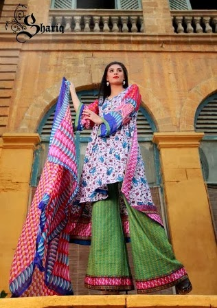 New Prints Lawn suits Collection 2014