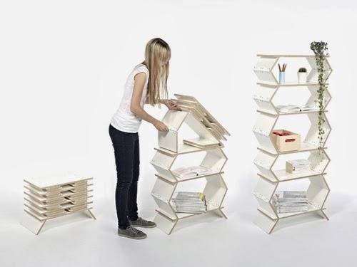 01-Front-Page-German-Designer-Meike-Harde-Stockwerk-Foldable-Bookshelf-www-designstack-co