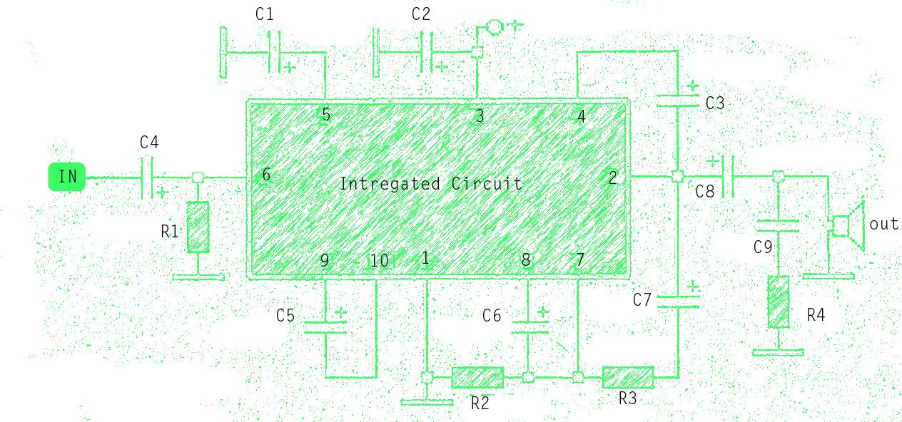 Subwoofer amplifier schematic circuit diagram subwoofer schematic publicscrutiny Choice Image