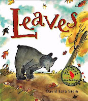 Preschool leaf books and activities for September