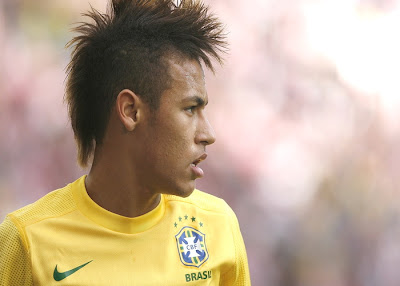 Neymar da Silva Santos Júnior, Brazilian footballer and centre-forward. Player Club of Santos