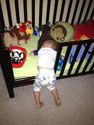 toddler sleeping funny