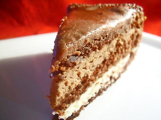 """Tort """"Negru si Alb"""""""