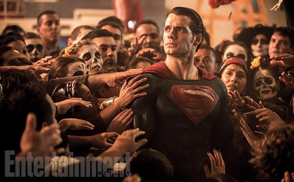 Superman adorado por sus seguidores