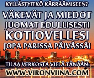 Viron Viinat suoraan kotiovelle: