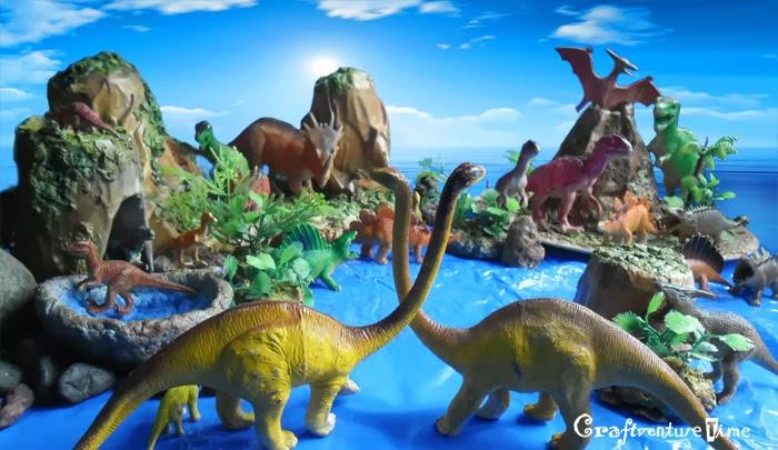 Craftventure Time Papier Mache Dinosaur World