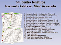 http://www.teacherspayteachers.com/Product/Spanish-Centro-Foneticos-004-haciendo-palabras-Nivel-Avanzado-DIGITAL-500105