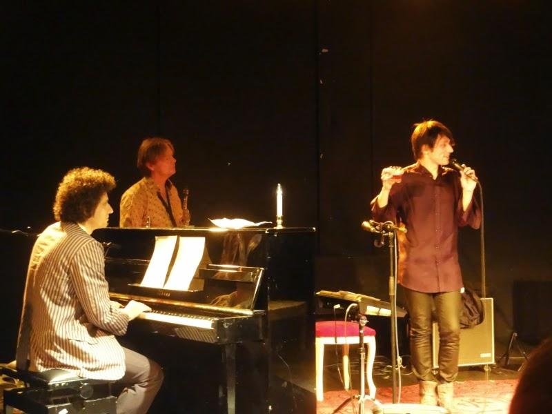 31.05.2014 Dortmund - Schauspielhaus: Joseph Keckler / Paul Wallfisch / Wim Wollner