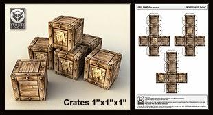 10 paginas de paper craft de escenografia Stones-edge