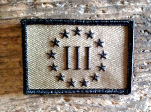 III Stars Patch