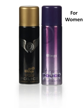 police deodorants for men & women