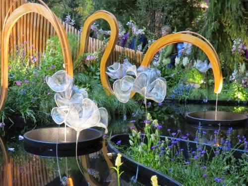 Philadelphia Flower Show 2015- fountains Maleficent