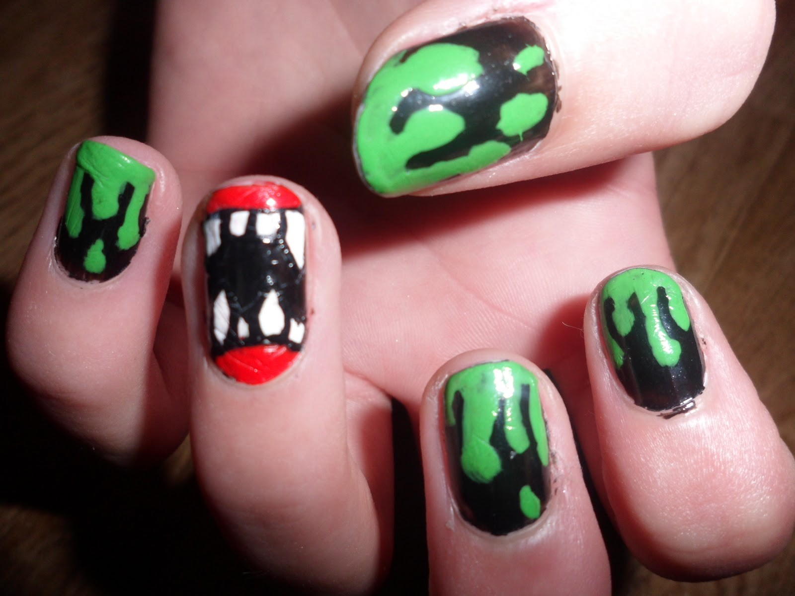 Home » Orange And Black Nails For Halloween