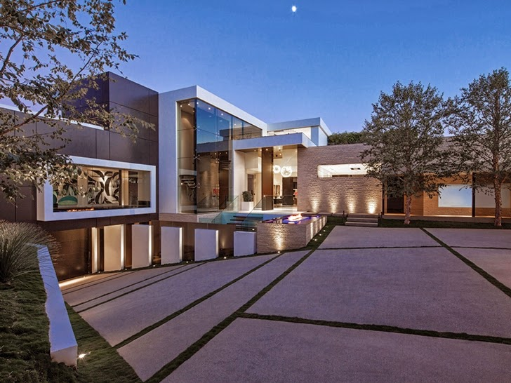 World of architecture perfect modern mansion in beverly hills Picture perfect house