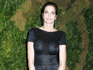 Stephanie Seymour See Through Dress at Tribeca Film Festival in NYC HQ